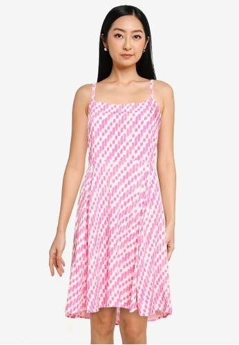 GAP multi Print Cami Dress 8D33EAAD63983DGS_1