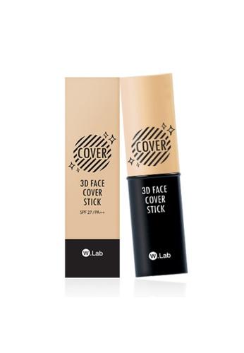 W.Lab beige 3D Face Cover Stick #23 Natural Beige WL589BE72SGHMY_1