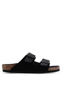 c61579a7aa37 Birkenstock black Arizona Natural Leather Sandals 62B8DSH153AF0CGS 1
