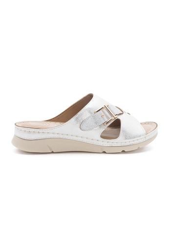 Unifit silver Unifit Slip-On Sandal 7E05DSHFD3F2B1GS_1