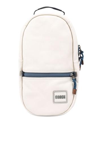 Coach white Pacer Backpack (cv) 0EEB5AC8F2EEDCGS_1