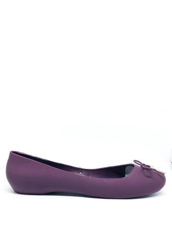 Twenty Eight Shoes 紫色 圓頭凍膠平底鞋 A-9 2CBD7SH88D0C34GS_1