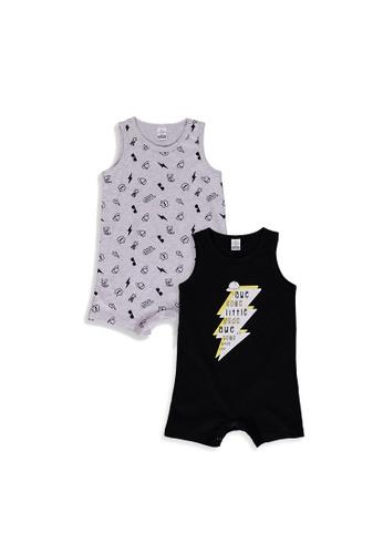 LC Waikiki black 2-Pack Baby Boy's? Bodysuit 5D6D1KAC8C0A79GS_1