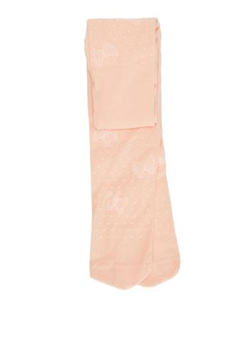LC Waikiki orange Girl's Patterned Thin Tights 14361KA0CBD82FGS_1