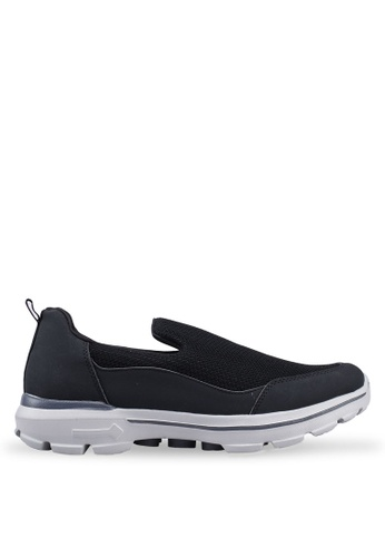 UniqTee black Lightweight Slip-On Sport Shoes Sneakers 9A3DFSH0955086GS_1