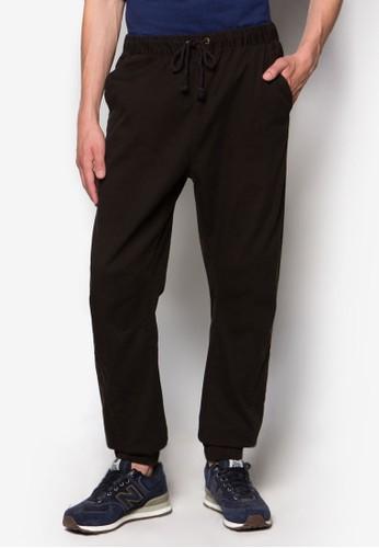 Factorie black Slung Pants FA113AA18BGVID_1