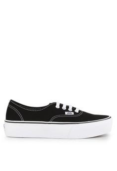 Vans black Ua Authentic Platform VA142SH0UQ4SID 1 0d22b0938