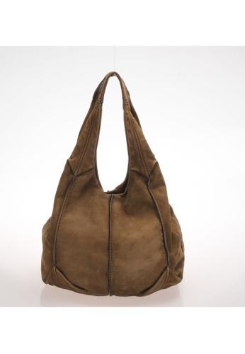 Tod's brown Pre-Loved tods Tods Tote Bag Suede Brown B9B81AC82DDCEFGS_1