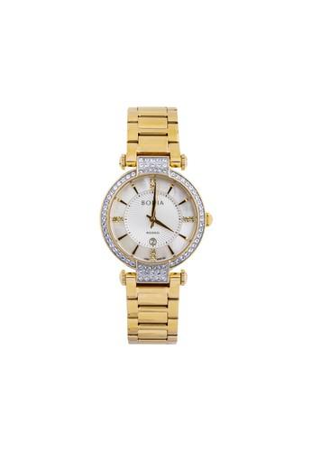 BONIA gold Bonia Rosso - BR154-2252S - Jam Tangan Wanita - Gold FBD22AC966B446GS_1