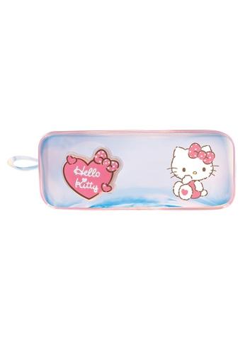 Hello Kitty pink Hello Kitty Flashing Light TPU Pencil Bag 1D9ECKCD211030GS_1