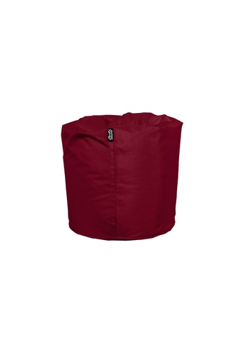 doob red TOOTSIE - ottoman/footrest doob bean bag (Wine Red) A8E1BHLA1A825FGS_1