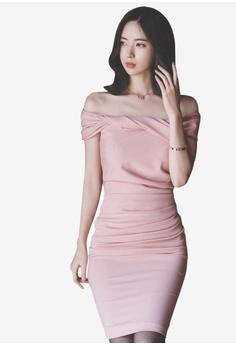6abcbdda56 Sunnydaysweety pink Super Sale Polyester Cocktail Dress 8E80FAAEE023ADGS 1