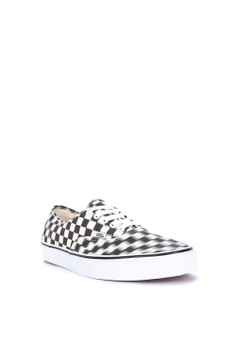 b739d9c8bfbc 10% OFF VANS Blur Checkered Authentic Sneakers Php 3
