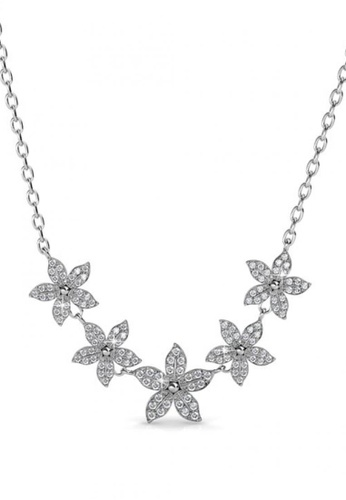 Her Jewellery silver Her Jewellery Bloom Quint Pendant with Necklace Chain with 18K Gold Plated 97E5EAC84A1DDBGS_1
