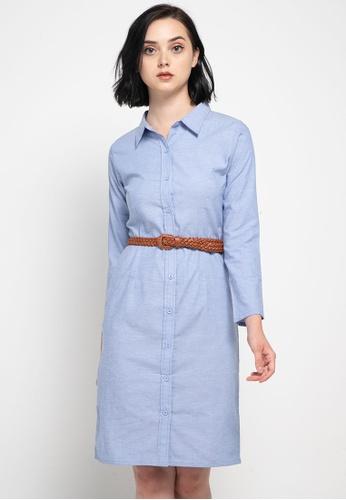 CHANIRA LA PAREZZA blue Chanira Ruth Dress 99A87AACC3F82EGS_1