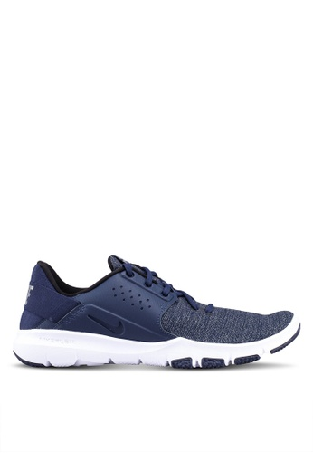 Nike blue and navy Nike Flex Control 3 Shoes B4071SHCCA4DE5GS_1