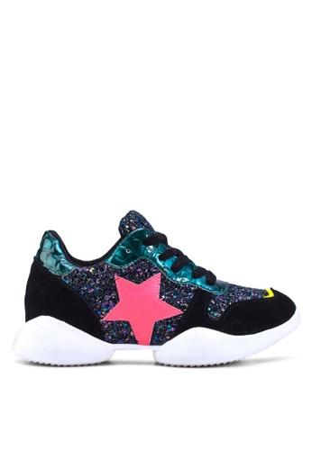Te Chi-Chi black Korean Star Sneakers TE125SH52HYHMY_1