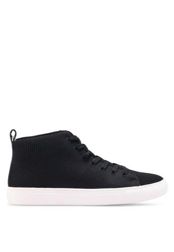 Kenneth Cole black Design Sneakers E8243SHFBDD7FDGS_1