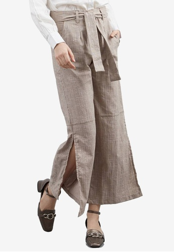 Berrybenka brown Dabille Culottes 32A68AAFC64221GS_1