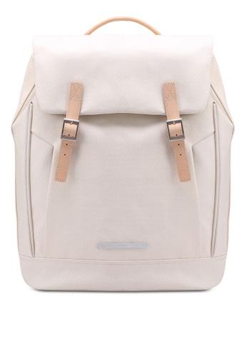 Rawrow white Rugged Canvas R 312 Backpack BFE7BACDEDD53AGS_1