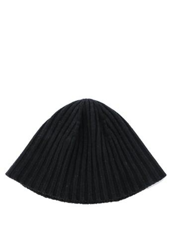 Urban State black Textured Knit Beanie DE2AAAC88CECB6GS_1