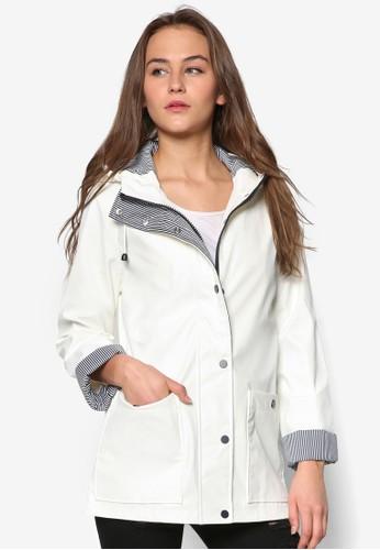 防風連帽雨衣外套zalora退貨, 服飾, 服飾