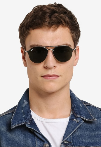 d63ddceee6a Buy Ray-Ban Blaze Double Bridge RB4292N Polarized Sunnies Online on ZALORA  Singapore