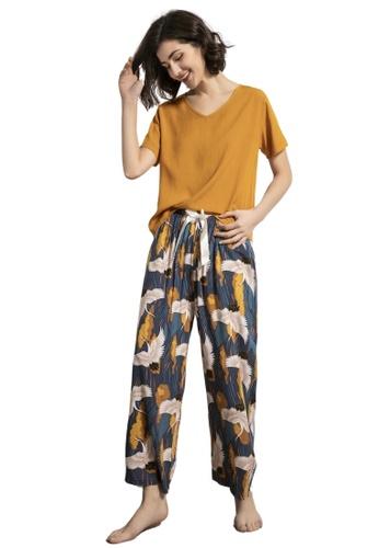 RAISING LITTLE multi Emille Loungewear Pants Set E2A99AAF4FF2FAGS_1