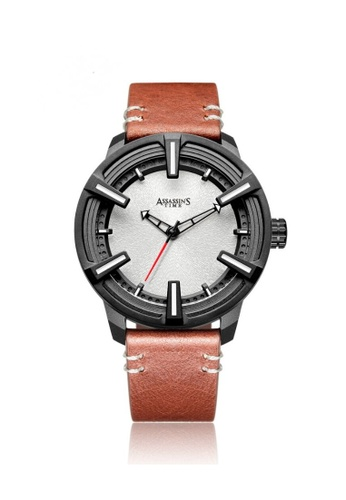Assassin's Time brown Assassin's Time ELEMENT Brown Leather 49425AC21B3D70GS_1