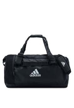 2607beda6 adidas black adidas convertible training duffel bag medium  95B4AAC09F6E07GS_1