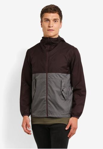 Burton Menswear London grey Grey Lightweight Hooded Jacket BU964AA0ROALMY_1
