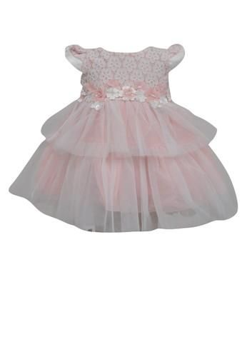 ESTRELLA pink Dress Anak Eta 48 6/12 E581BKAA8BC547GS_1