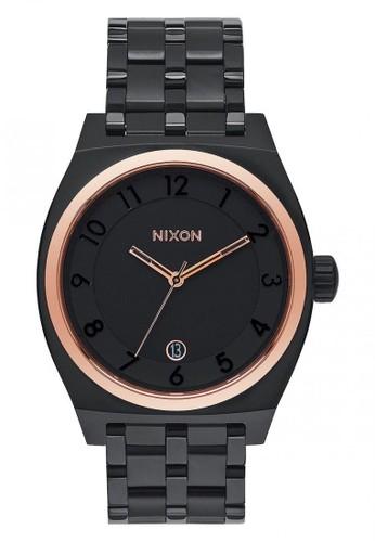 Nixon black MONOPOLY ALL BLACK/ROSEGOLD 90F2DAC5905AE5GS_1