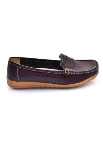 LENO brown Lonfuz Loafers (LS36597) LE122SH0RQ4QMY_1