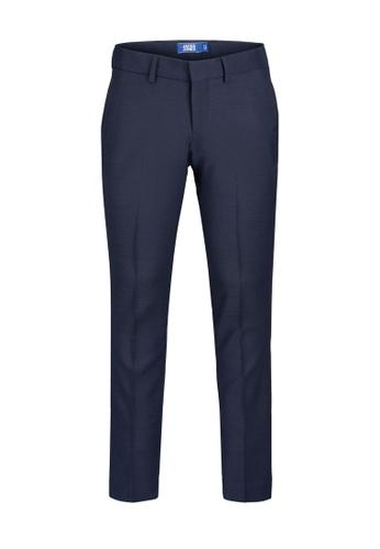 Jack & Jones navy Solaris Slim Fit Trousers 283F8KA6B9AF03GS_1