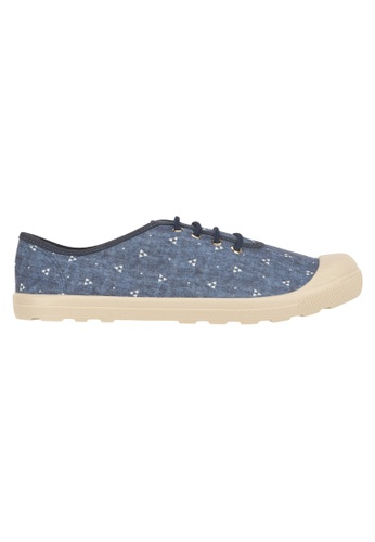 Beira Rio blue and multi and navy Cap In Lace Up Sneaker MO996SH05EVIHK_1