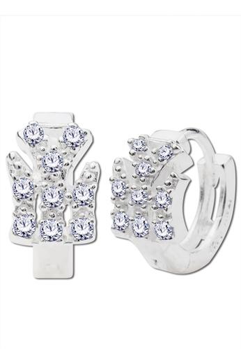 SC Tom Silver silver NY Clip Stone Earrings-ESL052 SC872AC03EKMPH_1
