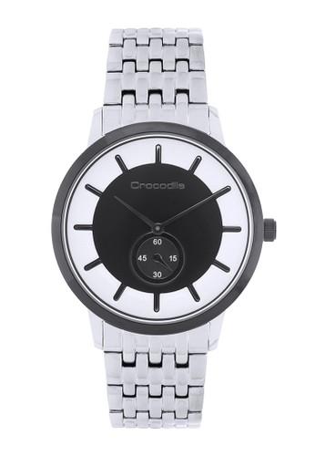 Crocodile Timepiece silver Jam Tangan Sport Wanita Crocodile Warna Hitam CF-024B11B Stainless Steel 65548AC5C64FEFGS_1
