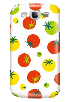 Tomatoes Glossy Hard Case for Samsung Galaxy S3
