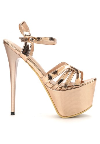 Mandy's brown Mandys Superstellar Champagne Heels MA947SH0VZ22ID_1