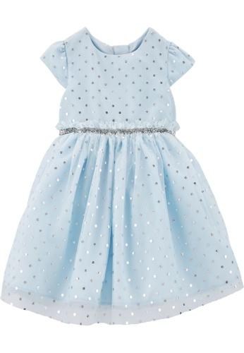 Carter's blue CARTER'S Girl Blue Dot Dress D15DEKA79C1D5EGS_1