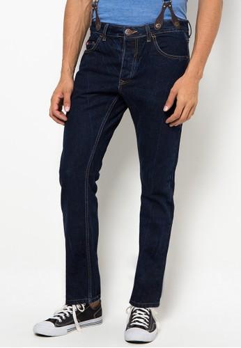 Lee Cooper blue Lee Cooper Jeans Pria Straight Fit Dark Indigo Harry  1CA7DAA44E01B4GS 1 e62102633e