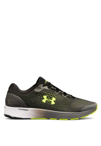 Under Armour black UA Charged Bandit 4 Running Shoes FB5C9SHFC8ED0BGS_1