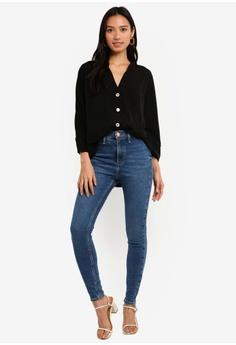16d68e2c6f320 5% OFF River Island Front Chest Pocket Shlouse S  57.90 NOW S  54.90  Available in several sizes