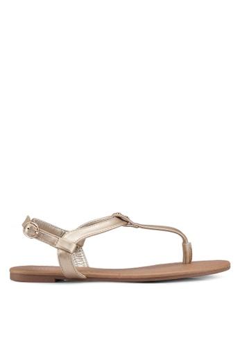 Rubi 金色 Everyday Aubrey Stud Toe Post Sandals EE4FBSH4B82B85GS_1