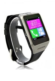 GV08 Smart Watch Phone Quad Band Bluetooth Dailer Camera ( Black )
