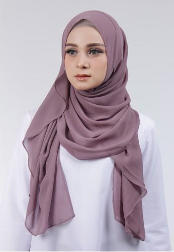 Cantik Kerudung purple Adela Instant 28554AA7DCC928GS_1