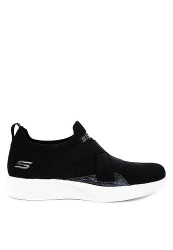 Skechers black Bobs Squad 2 Sneakers F3127SHD3C5167GS_1
