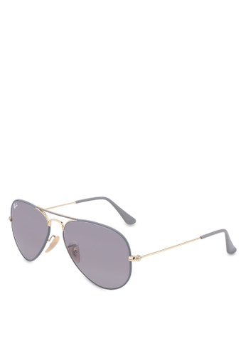 Ray-Ban grey Icons RB3025 Sunglasses A67F3GL29AFF63GS_1