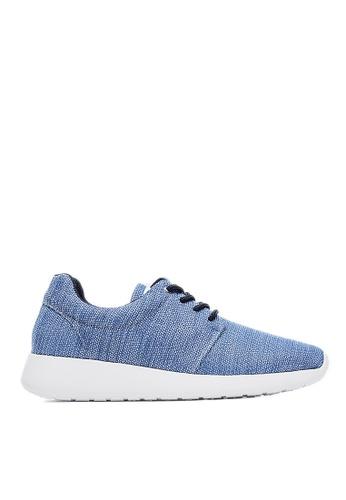 Life8 blue Lightweight Bicolor Casual Shoes-09150-Blue LI283SH78KPLSG_1